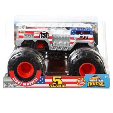 Hot Wheels Monster Trucks 1:24 Arabalar  Renkli